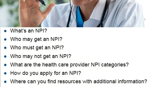 How to get NPI for setting up a telemedicine practice - National provider Identifier for medical providers